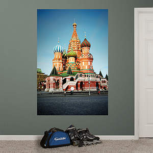 St. Basil's Cathedral Mural Fathead Wall Decal